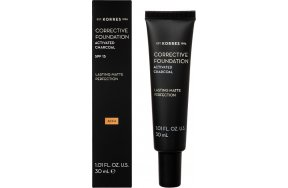 Korres Activated Charcoal Corrective Foundation ACF4 30ml