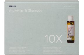 Korres Set Showergel & Shampoo 10x40ml
