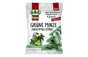 Kaiser Grune Minze Eukalyptus Citrus Καραμέλες Λαιμού (Ευκάλυπτος-Δυόσμος-Lime) 60gr