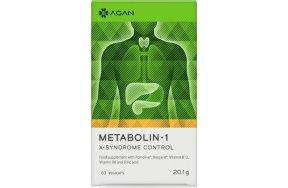 Agan Metabolin 1 X-Syndrome Control 60 φυτικές κάψουλες