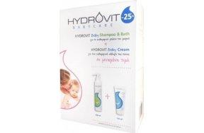 HYDROVIT BABY CARE KIT PR (Shampoo & Bath + CREAM)