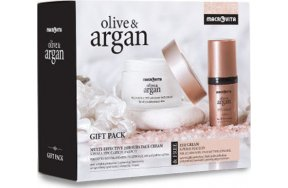 Macrovita Olive & Argan Set 24H Cream & Eye Cream