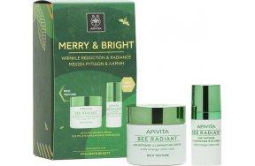 Apivita Merry & Bright Set Bee Radiant Rich Texture