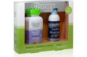 Vican Chewy Vites Sweet Dreams 60 Ζελεδάκια & Alcoliquid Spray 150ml