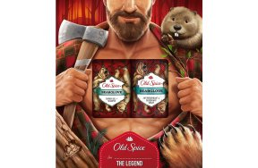 Old Spice Bearglove Lumberjack Deodorant Spray 150ml and Shower Gel 250ml