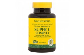 Nature's Plus Super C Complex 1000mg 60 ταμπλέτες