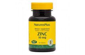 Nature's Plus Zinc 10mg 90 ταμπλέτες