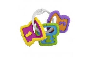 Chicco Baby Senses Χρωματιστά Κλειδιά 3m+ (05953-00)