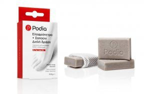PODIA PUMICE SOAP DUAL ACT 100G