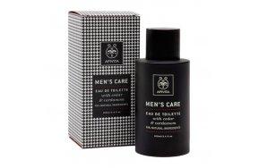 Apivita Men's Care Eau De Toilette With Cedar & Cardamom 100ml