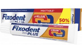 Fixodent Promo (+50% Επιπλέον Προϊόν) Pro Plus Στερεωτική Κρέμα Για Ολικές Και Μερικές Τεχνητές Οδοντοστοιχίες 60gr