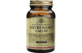 SOLGAR NUTRI-NANO CoQ-10 3.1x30MG SOFTGELS 50S