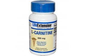 LIFE EXT. L CARNITINE 500MG 30CAPS