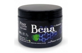 POWER SPORT SERIES BCAA + L-GLUTAMINE GREEN APPLE 250GR