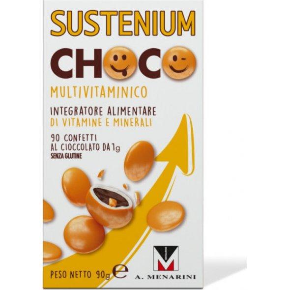 Sustenium Choco Multivitamin 90 Σοκολατένια Κουφετάκια