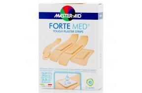 Master Aid Forte Med Strip Διάφορα 40τμχ