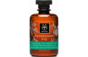 Apivita Refreshing Fig Shower Gel 300ml