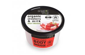 Natura Siberica Body Mousse Strawberry Yoghurt 250ml