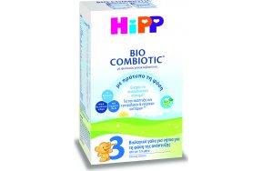 Hipp Γάλα σε Σκόνη Bio Combiotic 3 12m+ με Νέα Σύσταση 600gr