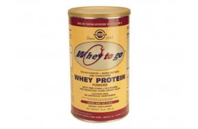 SOLGAR WHEY TO GO PROTEIN VANILLA POWDER 340GR