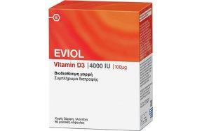 Eviol Vitamin D3 4000iu 100mcg 60caps