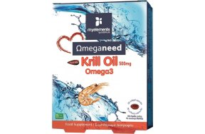 My Elements Krill Omega 3 500mg 30 μαλακές κάψουλες