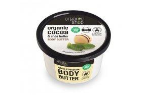 Natura Siberica Organic Shop Body Butter White Chocolate 250ml