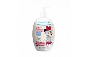 HELENVITA KIDS 2 IN 1 SHAMPOO + SHOWER GEL 500ML (MINNIE)