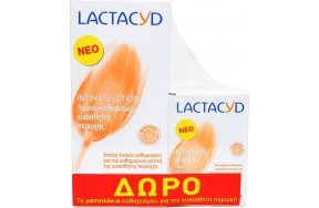 LACTACYD LOTION 300ML PR(+WIPES 15PCS)
