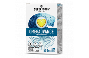 SUPERFOODS OMEGADVANCE (FISH OIL 500MG) 30CAPS
