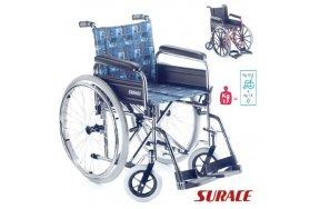 Surace Αναπηρικό Αμαξίδιο 500 Large + WC Πτυσσόμενο με Μεγάλες Ρόδες