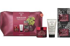Apivita Wine Elixir Σύσφιξη & Αίσθηση Lifting Rich Texture Care Set