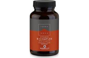 TerraNova B-Complex With Vitamin C 50 φυτικές κάψουλες