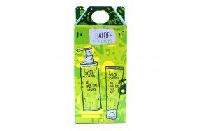 Aloe+ Colors Set All Hair Types Shampoo 250ml & Hair Mask 250ml + Δώρο Scrunchie Μαλλιών