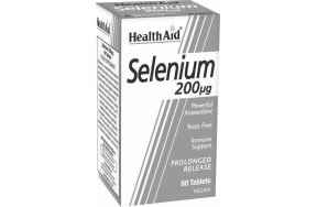 Health Aid Selenium 200μg 60 ταμπλέτες