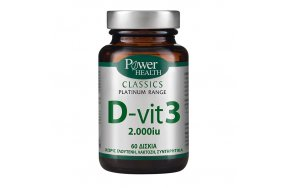 Power Health Classics Platinum D-Vit3 2000IU 60tabs