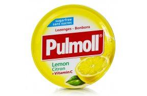 Pulmoll Vitamin C Καραμέλες με Γεύση Λεμόνι για το Βήχα & τον Ερεθισμένο Λαιμό 45gr