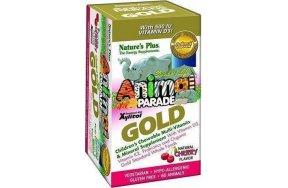 Nature's Plus Animal Parade GOLD Cherry Flavor 60 μασώμενες ταμπλέτες