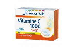 Juvamine Fizz Vitamin C 1000 30 Αναβράζουσες Ταμπλέτες