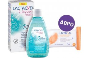 Lactacyd Oxygen Fresh Wash & Intimate Wipes
