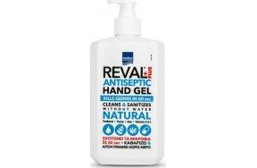 Intermed Reval Plus Natural With Vitamin A Αντισηπτικό Gel Χεριών 500ml