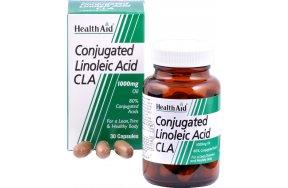 Health Aid Conjugated Linoleic Acid (CLA) 1000mg 30 κάψουλες