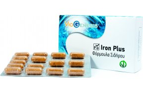 Viogenesis Iron Plus 30 Κάψουλες