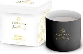 Power Health Αρωματικό Κερί Fleriana Aromatherapy Euphoria Natural 250gr