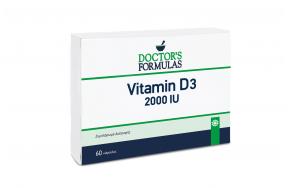 DOCTORS FORMULA VITAMIN D3 2000IU 60 SOFTGELS