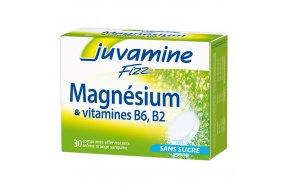 Juvamine Fizz Magnesium & Vitamins B6, B2 30 Αναβράζουσες Ταμπλέτες.