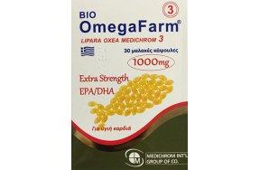 Medichrom Omegafarm Extra Strength EPA/DHA 1000mg 30μαλακές κάψουλες