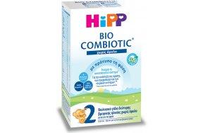 Hipp Γάλα σε Σκόνη Bio Combiotic 2 6m+ Χωρίς Άμυλο 600gr