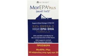AM Health MorEPA Plus 92% Omega3 830mg 60 κάψουλες