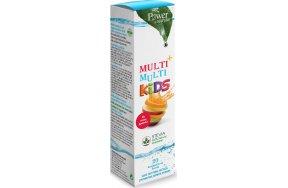 Power Health Multi+ Multi Kids Stevia 20 αναβράζοντα δισκία Φράουλα